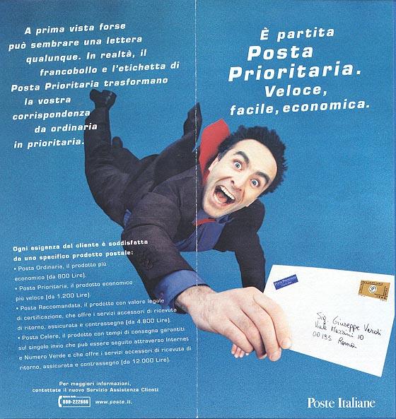 Brochure explaining priority mail