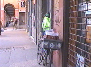 Postman's bicycle