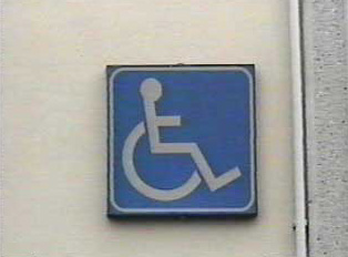 Handicapped accessible restroom