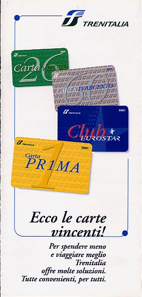 Front cover of flyer