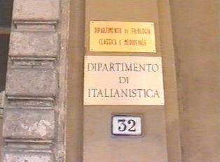 Italian Department
