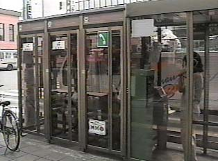 Public phone booths