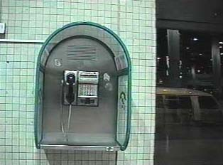 Public card phone