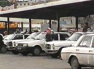 Service taxi station