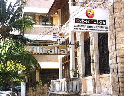 CyberTwiga sign