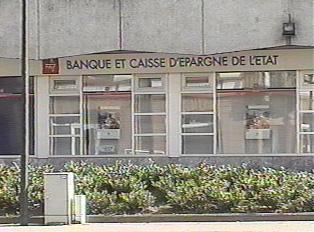Sign of the Banque et Caisse d'Epargne de l'Etat