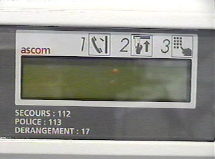 Close-up of number display