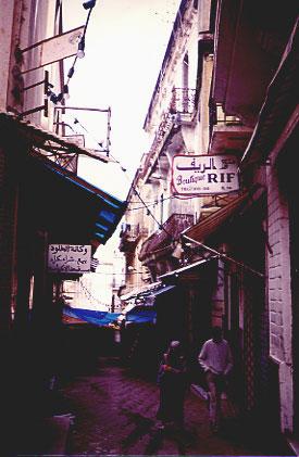 Older city street