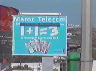 Telephone company advertisement