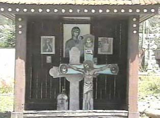 Close-up of shrine