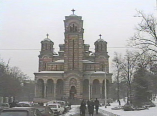 A Serbian Orthodox church