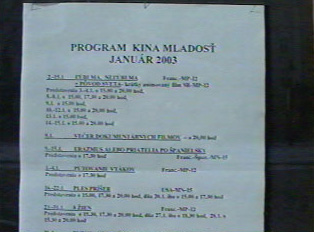 'Cinema Mladost program'
