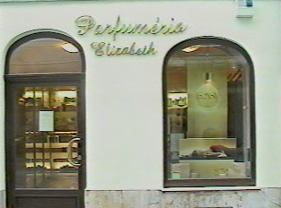 A perfume store