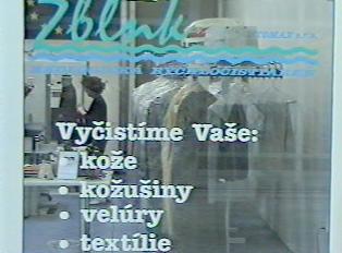 Cleaner shop window