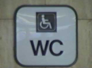 Handicapped accessible toilets