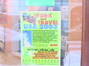 Work and Travel program' brochure