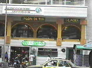 Ceasar's restaurant in Dakar