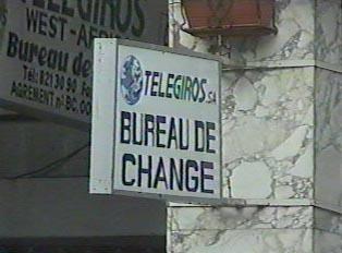 Money exchange office