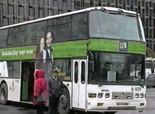 A double decker bus