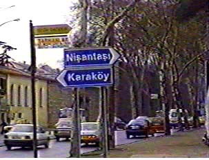 Directional and street signs