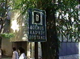 Dolmus sign