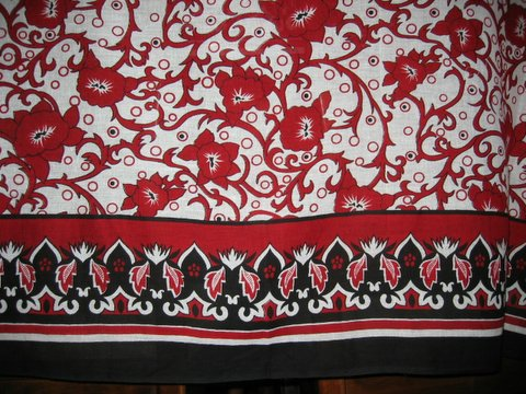Kanga cloth sample