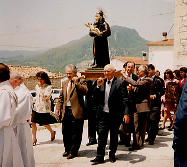 A Saints' Day celebration