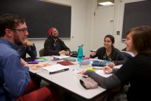 A Five College language class session